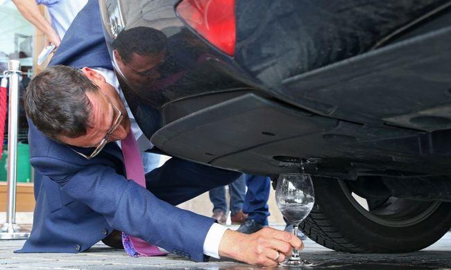 Nemsokára Magyarországon is tankolhatunk üzemanyagcellás autót