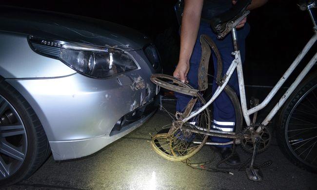 Újabb részletek a biciklisgázolásról, helyszíni fotók a tragédiáról