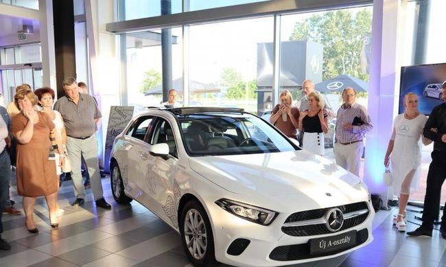 Kecskeméti roadshow-n az új Mercedes A-osztállyal