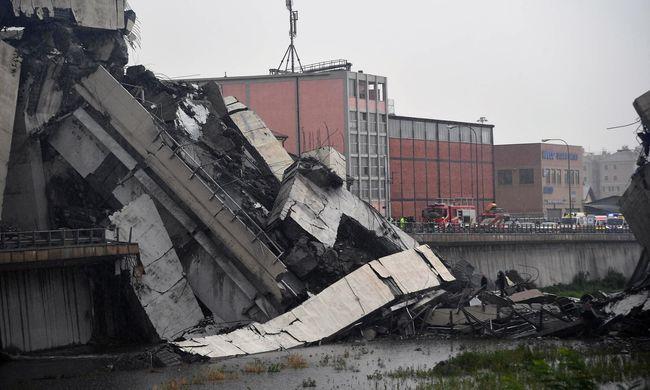Genovai hídomlás: kiderült, mi okozhatta a tragédiát