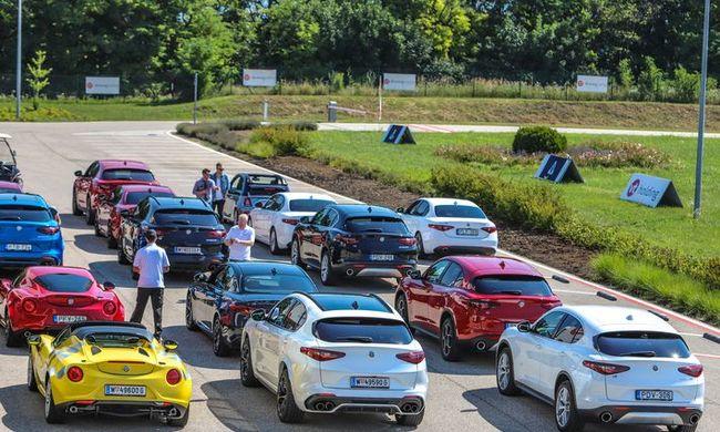 Alfa Romeo élménynap