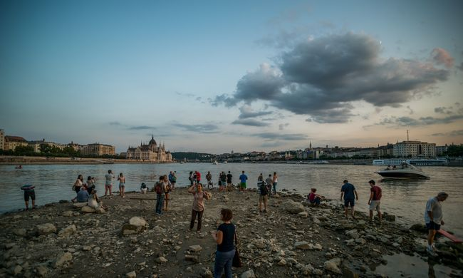 Szomorú rekord a Dunán, sosem volt ilyen alacsony a vízállás