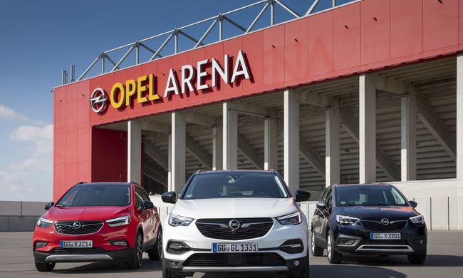 Új motorokkal és új váltókkal vezettük az Opel SUV-jait