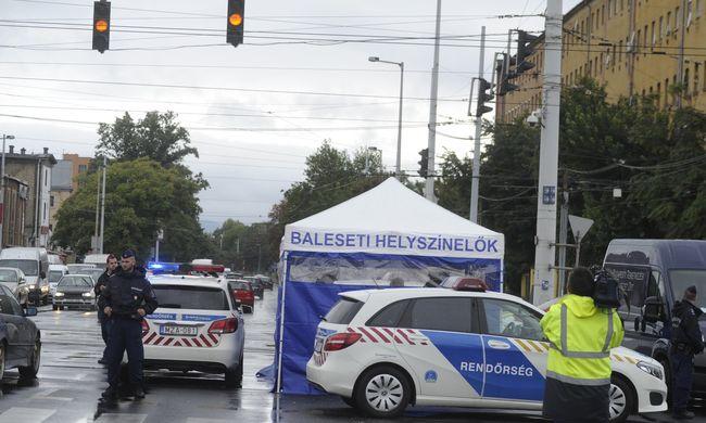Halálra gázoltak egy nőt Józsefvárosban