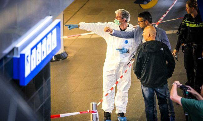 Terrorista indíték, ezek a legújabb részletek a pénteki amszterdami késelésről