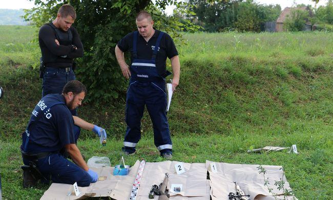 Lecsapott a TEK, fegyvereket találtak egy autóban
