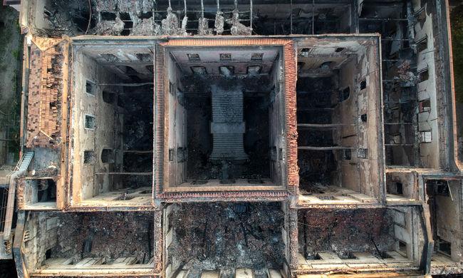 Porig égett a legendás múzeum: ennyi műtárgyat mentettek meg néhány hónap alatt