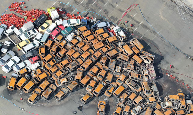 Több ezer ember maradt a reptereken, sok a halott - óriási pusztítást végzett a tájfun Japánban