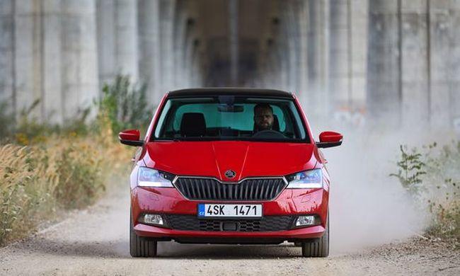 Diszkrét sminket kapott a Škoda Fabia