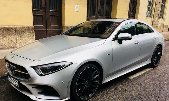 Mercedes-Benz CLS teszt: átkozottul jó