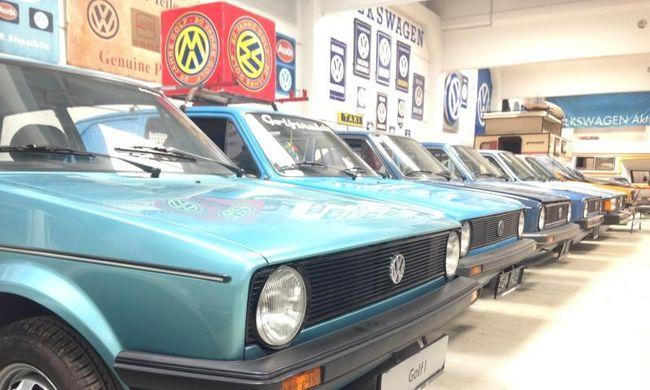 Bécsben jártunk, eldugott VW Golf gyűjteményt láttunk