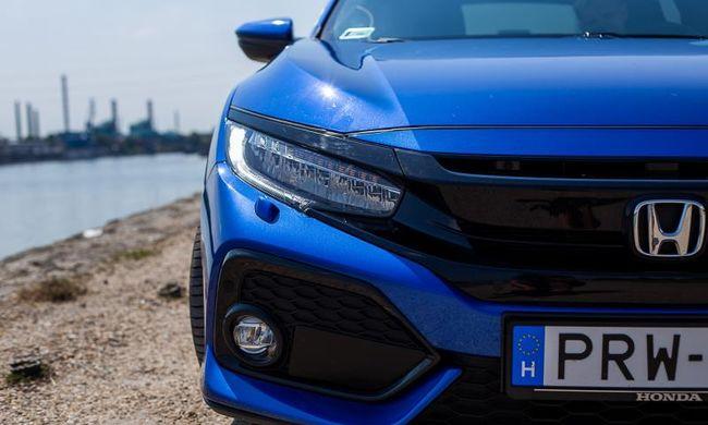Furcsa, de jól áll neki: Honda Civic 5D 1.6 i-DTEC teszt
