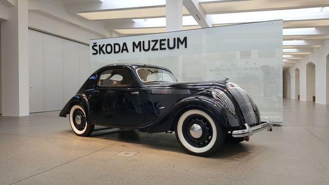 Tárlatvezetés - Škoda Múzeum