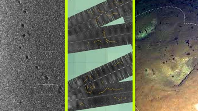 Óriási lábnyomokat fedeztek fel mélyen az óceán fenekén