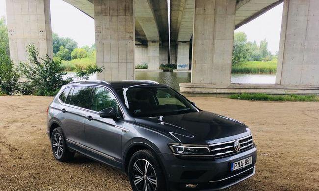 Volkswagen Tiguan Allspace teszt: hosszabbítás