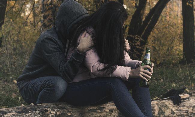 Nagyon szomorú a helyzet, a magyar tinilányok rengeteget isznak