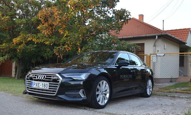 Jövő a jelenben az új Audi A6 - próbaúton