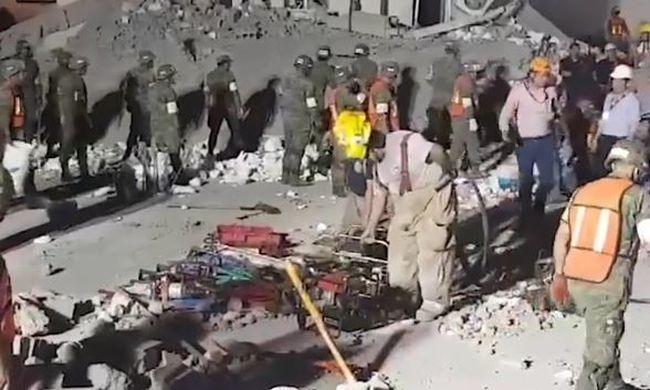 Sokan meghaltak, összedőlt egy bevásárlóközpont