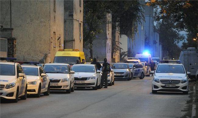 Razzia volt a Hős utcában, lecsapott a rendőrség