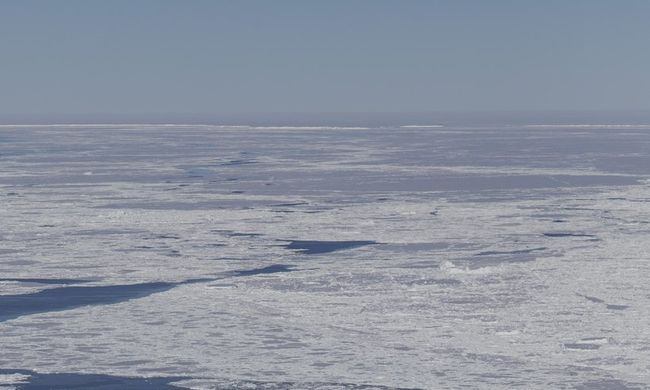 Elképesztő látvány: hihetetlen formát alkotott a természet az Antarktisznál