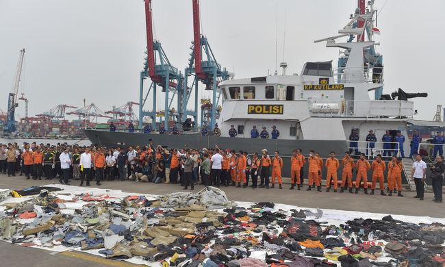 Indonéz légikatasztrófa: ekkor lehet eredménye a vizsgálatnak