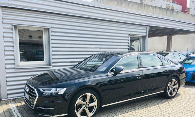 Audi A8 teszt: elnyújtott élvezet