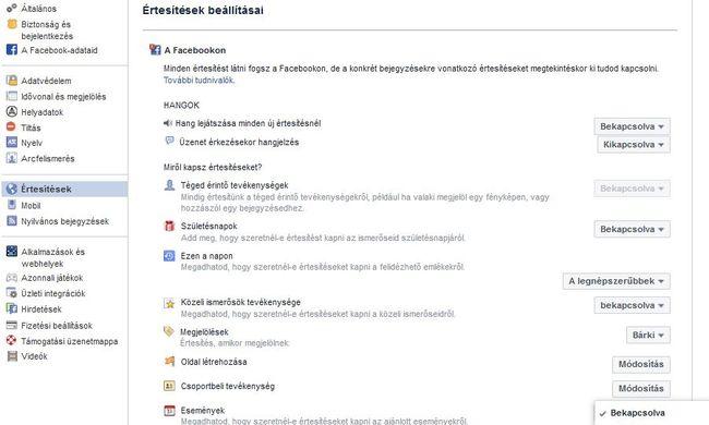 Idegesítik a Facebook értesítések? Mutatjuk, mit tehet ellenük