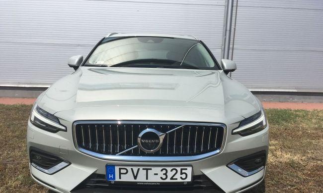 Volvo V60 teszt: hozza a kötelezőt