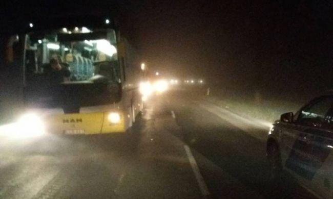 Halálos buszbalesetről jött hír, az 59 éves gyalogosnak esélye sem volt