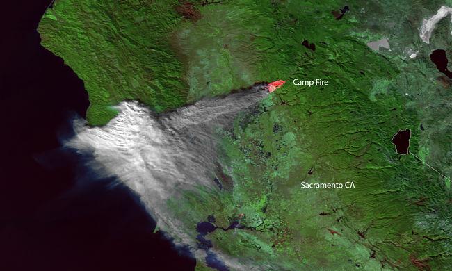 Kaliforniai tűzvész: a kontinens másik oldalára is eljutott a füst, New Yorkban is látni