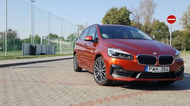 Egy hét aktív élet - BMW 220i Active Tourer teszt