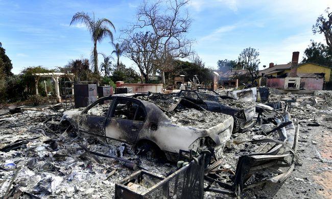 1300 emberről semmit sem tudni, tovább pusztít a kaliforniai tűzvész