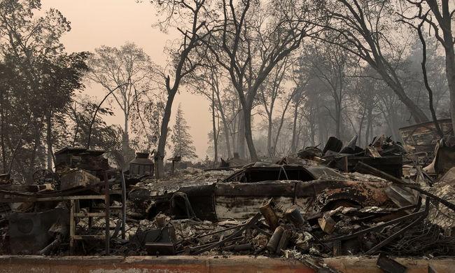 Újabb hírek a kaliforniai tűzvészről, folyamatosan emelkedik a halálos áldozatok száma