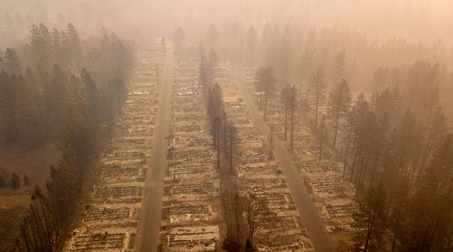 Egy nap alatt megduplázódott az eltűntek száma - tovább tombol a tűzvész Kaliforniában