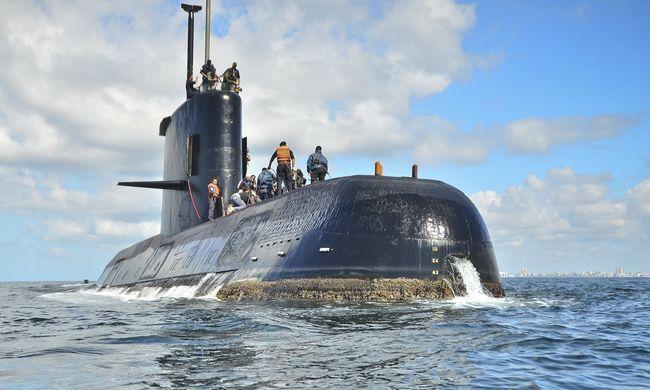 Hullámsírban marad az Argentin tengeralattjáró