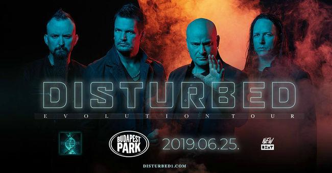 Először Magyarországon az amerikai metálszíntér egyik legsikeresebb zenekara, a Disturbed!