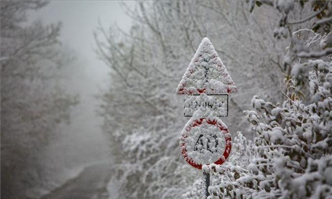 Több helyen is havazik az országban, íme az első képek