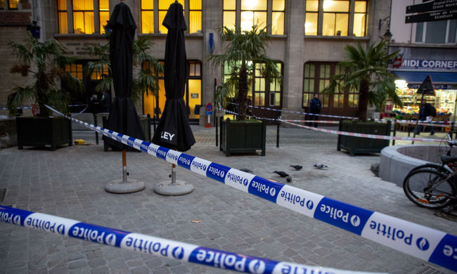 """""""Allah Akbar"""" - kiáltotta a támadó, merénylet történt Brüsszel főterén"""