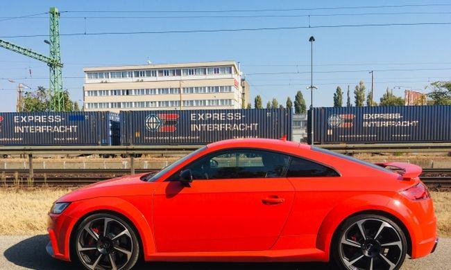 Audi TT RS teszt: a legerősebb magyar