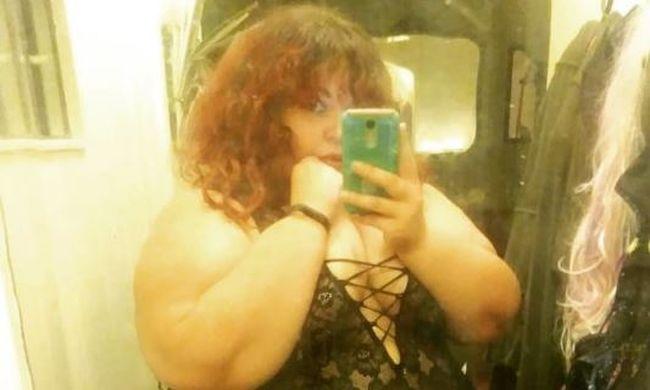 A 190 kilós nő kijelentette: csak vékony férfiakkal hajlandó randizni