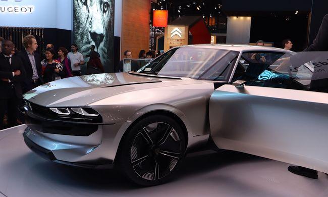 4 másodperc alatt százon a Peugeot e-Legend Concepttel