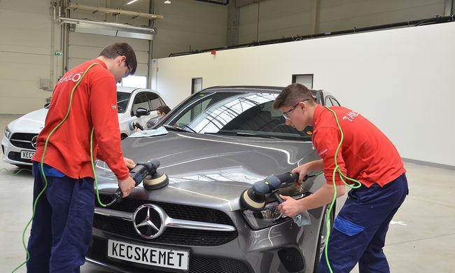 Elkészült a Mercedes kecskeméti oktatási központja