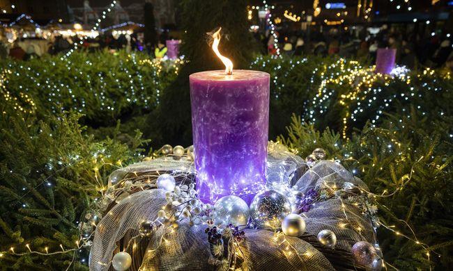 Adventi koszorú okozott tüzet Budapesten