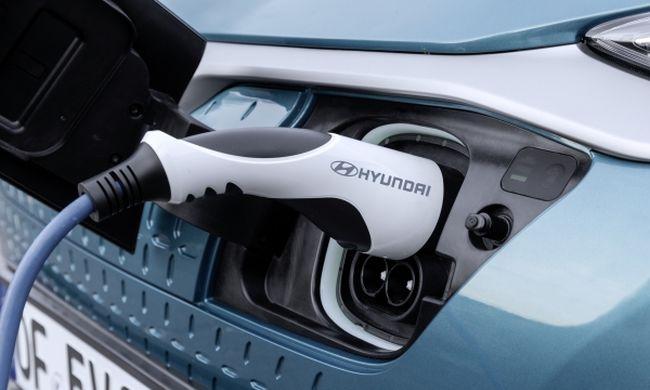 Hyundai Kona: konnektorból tankolva