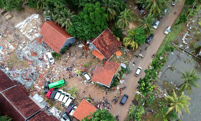 Indonéziai szökőár: nőtt az áldozatok száma, több mint ezer sérült a katasztrófa után