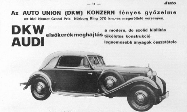 Meseautótól a Merkurig, 22. rész: A DKW története Magyarországon