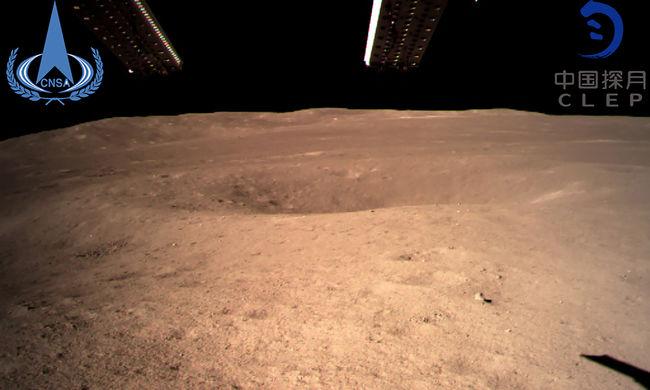 Ezek az első képek, így néz ki a Hold sötét oldala