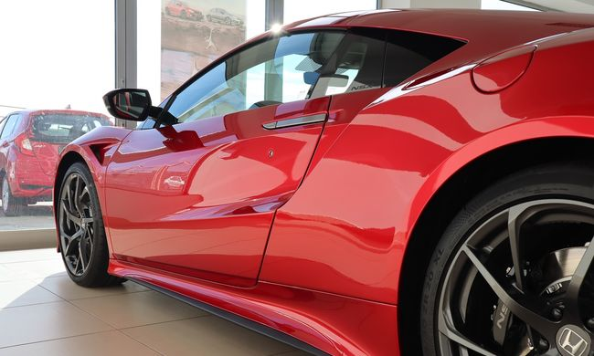 Magyarországon az első és egyetlen új Honda NSX