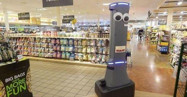 Robotok lepték el az élelmiszerboltokat, a gépek tartják rendben a polcokat