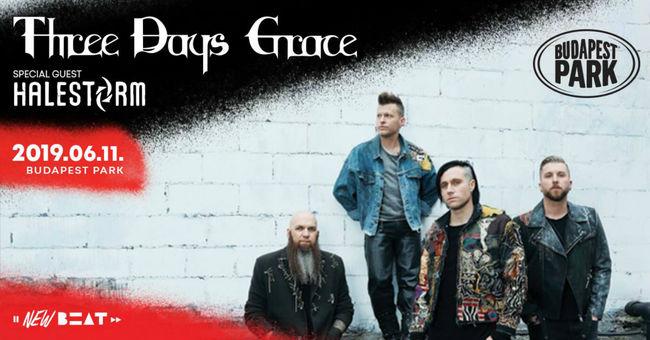 Végre Magyarországra is eljut a Three Days Grace